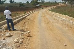 Travaux de drainage et reprofilage