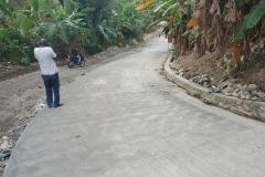 Travaux protection de la route (bande beton) Suite Sud'Est